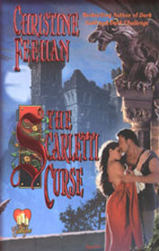 Scarletti Curse book cover