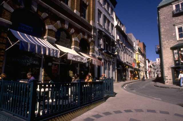 Quebec Street Scene