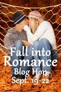 fall into romance button