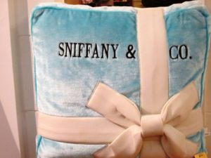 sniffany & co dog pillow