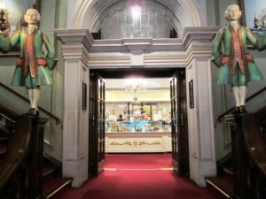 Fortnum and Mason side door