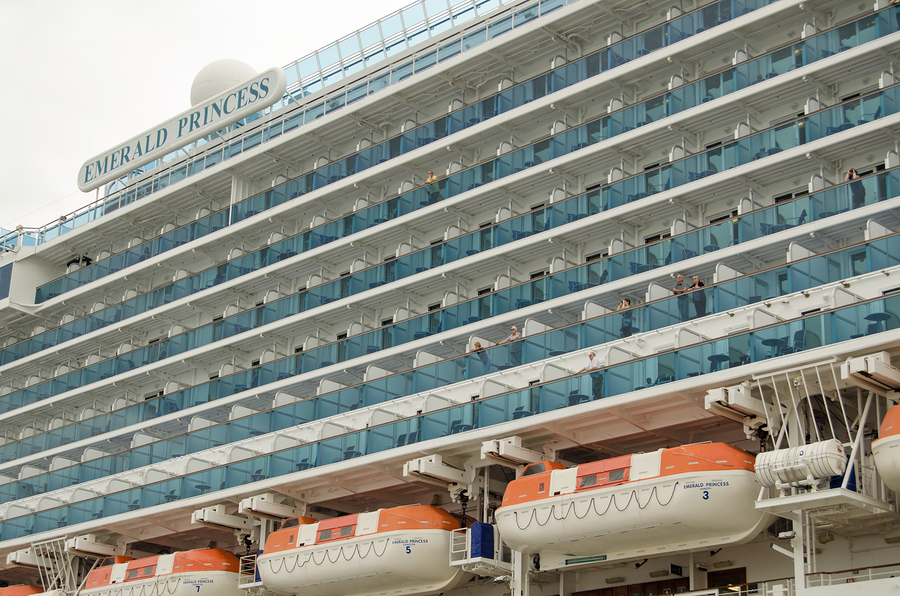Emerald Princess balconies