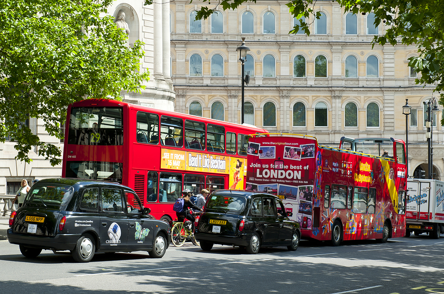 London double-decker buses