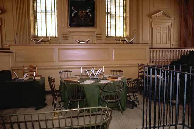 Interior Independence Hall