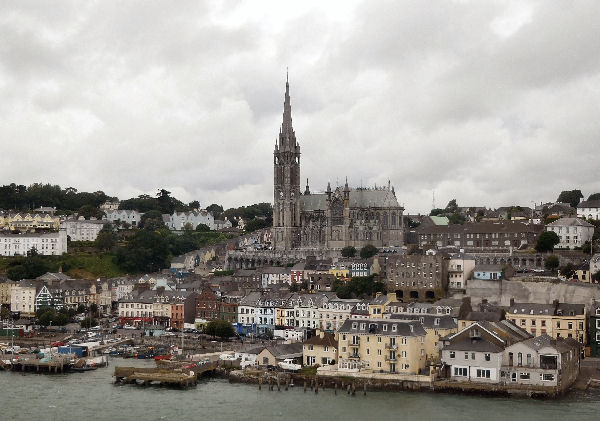 Cobh with cathedral