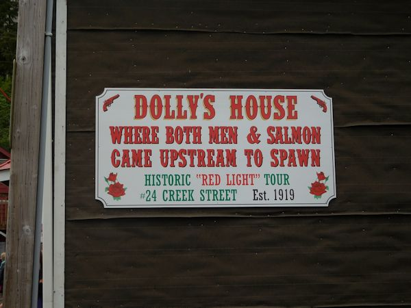 Dolly's House Sign