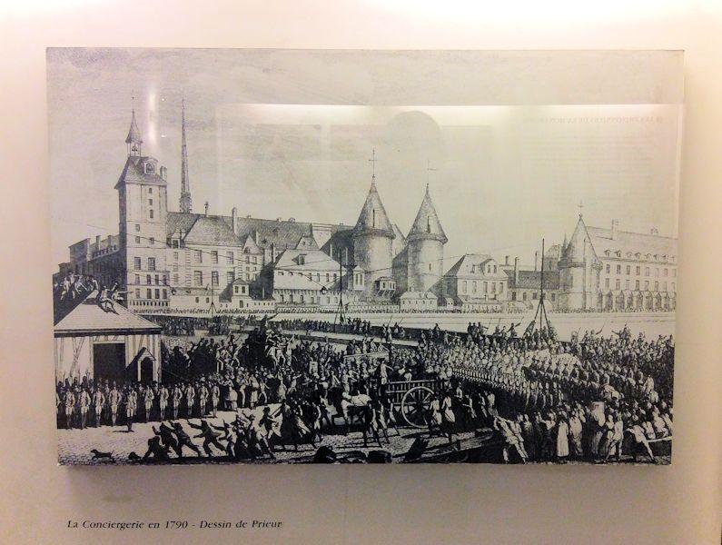 La Conciergerie 1790