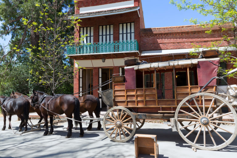 Columbia gold rush town