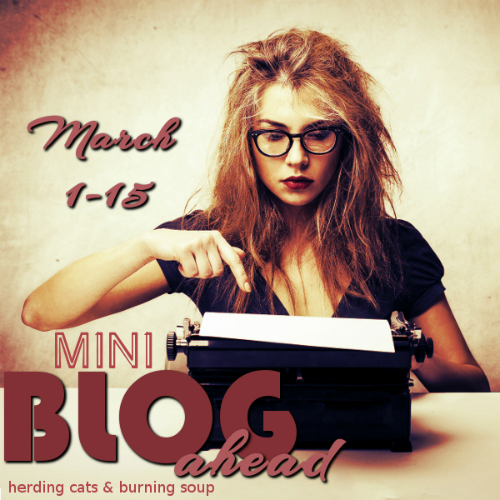 mini blog ahead