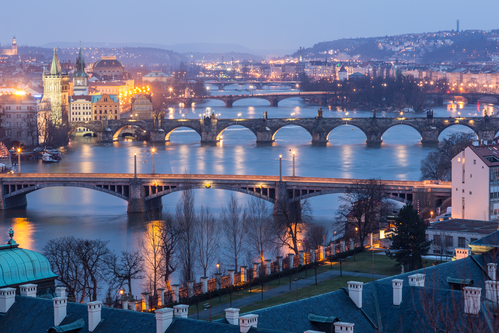 Prague bridges