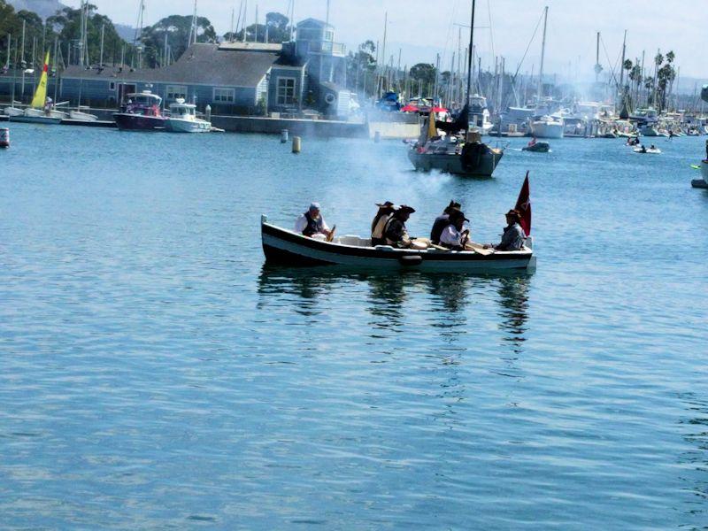 Pirates attacking