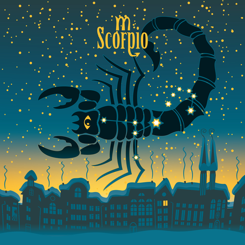 Scorpio constellation